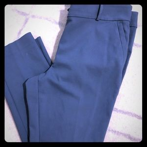 Loft straight leg ankle pants